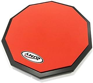 練習用トレーニングパッド 12インチ 片面タイプ (ケース付き)/Xiny/Decagon black base plate (レッド)