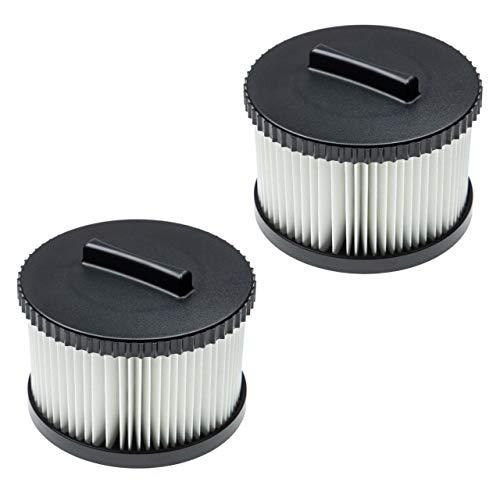 vhbw Set de 2X filtros reemplaza Dewalt DWV9330 Filtro para - Filtro HEPA antialérgico