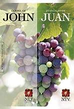 Gospel of John (NLT) / Evangelio de Juan (NTV) Parallel (Tapa rústica) (Spanish Edition)