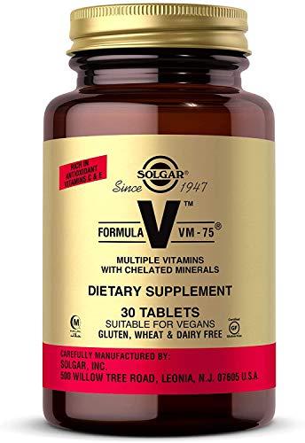 Solgar Fórmula VM-75-30 Tabletas, 30 unidades (E1180)