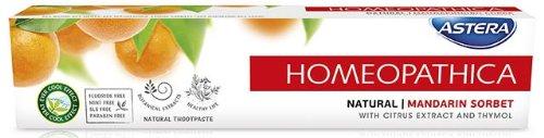 ASTERA Homeopathica Natural - Mandarin Sorbet (Zahnpasta)