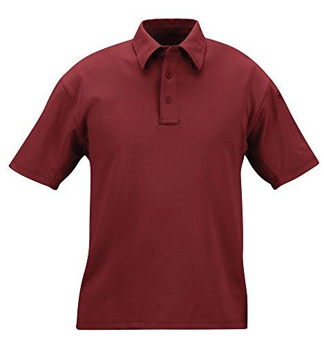Propper Herren I.C.E Long Sleeve Regular Performance Polo Shirt XL burgunderfarben