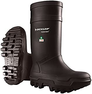 Dunlop Purofort Thermo&Full Safety Boot,Black