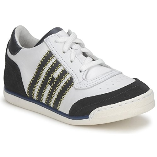 HIP ARCHIK Sneakers kind Wit/Blauw Lage sneakers