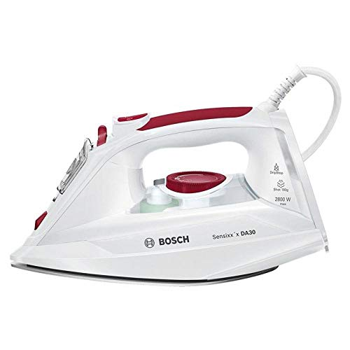 Bosch Hogar Sensixx'x TDA302801W, 2800 W, 0.3, Cerámica, blanco/rojo
