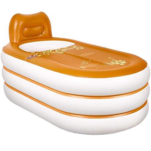 JU Badkuip Thuis Opblaasbare Tub Volwassen Opvouwbare Kunststof Badkuip Wassen Basin Volwassen Bad Barrel Tub