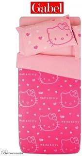Hello Kitty Imprimé Avec Paillettes Complet De Couette Gabel Outline  Couleur Rose Fuchsia Une Place Sanrio