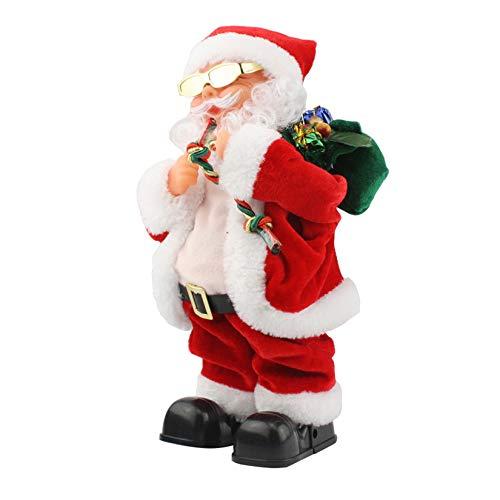 Electric Santa Claus, Shaking Head feet Singing Dancing Chrismas Toy Christmas Dolls Christmas Electric Dancing Music Santa Claus Doll Xmas Gift