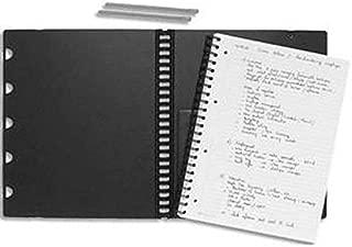 Une recharge cahier /à spirale Rhodia Exabook 160 feuillets d/étachables perfor/és 6 trous grands carreaux avec cadre 16x21 cm 90g Clairefontaine 133571C