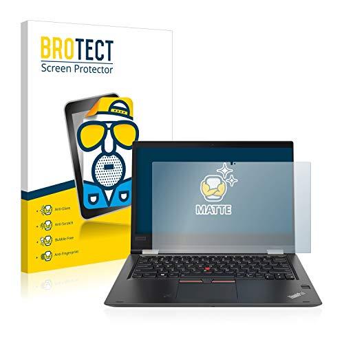 BROTECT Entspiegelungs-Schutzfolie kompatibel mit Lenovo ThinkPad Yoga X380 Bildschirmschutz-Folie Matt, Anti-Reflex, Anti-Fingerprint