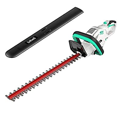 LiTHELi Cordless Hedge Trimmer 22?, 40V Battery Bush Trimmer Electric Hedge Trimmer for Pruning, Tool Only (Without Battery and Charger)