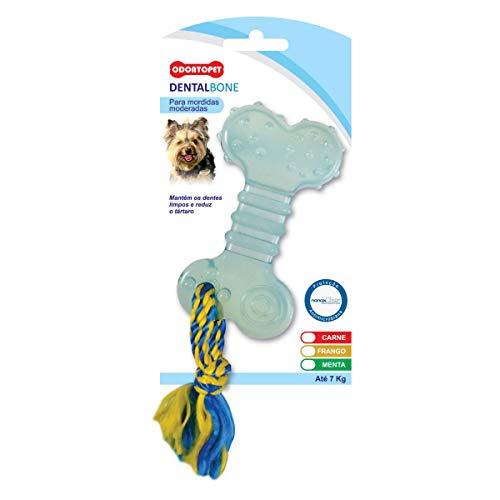 Pet Flex Odontopet Dentalbone Flat Corda para Cães ate 7Kg, Sabor Menta, Cores sortidas
