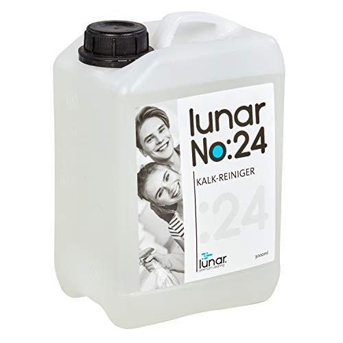 lunar. premium cleaning 3 Liter Kalkreiniger Konzentrat Schnell-Entkalker Wasserentkalker Haushaltsgeräte Elektrogeräte mit Auslaufhahn