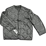 Field Jacket Liner, M-65, Foliage Green-Genuine Military Issue, Large