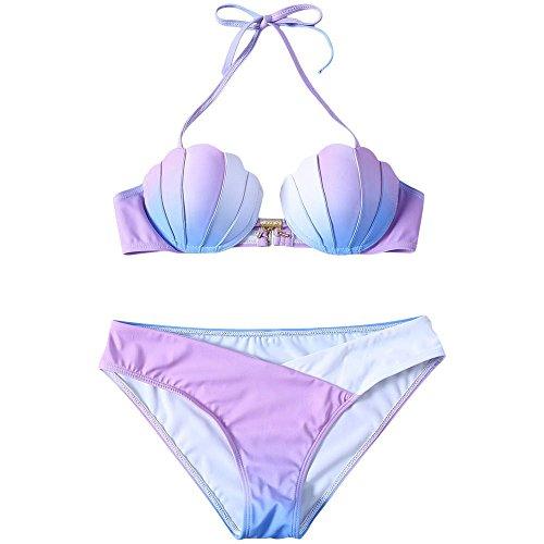 QMM Bikini Bikini A Forma di Conchiglia,S