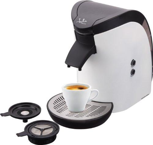 Jata CA569 Cafetera Monodosis de 60 mm Para cafés y infusiones Filtro fácil Accesorios Extraíbles Fácil limpieza Apta Para Todas las Marcas de Café
