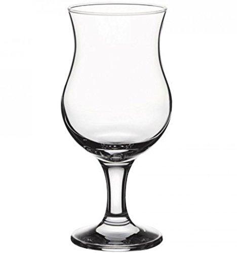 Pina Colada–Copas de cóctel 13oz/375ml–caso de 12  poco grande de cristal, tallo...