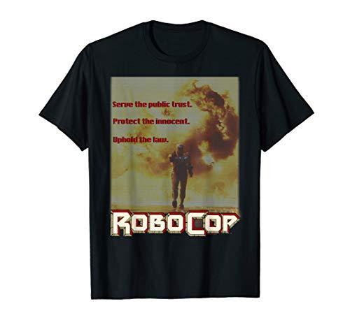 RoboCop Serve The Public T-shirt, Officially Licensed, 6 Colors for Men, Women
