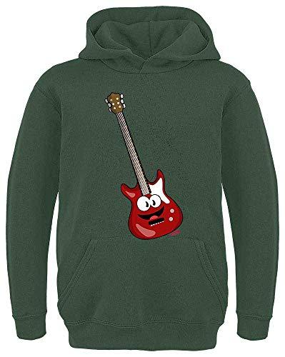Hariz - Sudadera con capucha para niño, guitarra eléctrica, instrumento divertido, incluye...