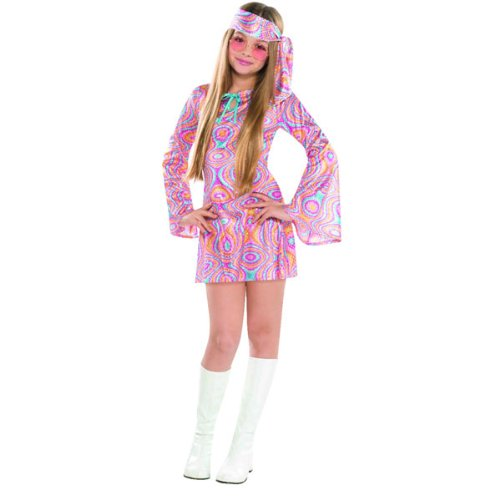 amscan Déguisement Filles Costume Diva Disco - 14/16 Ans