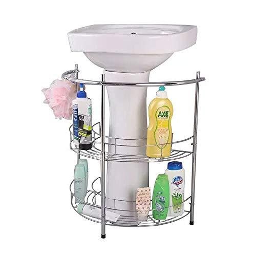 YUSDP Estante de Almacenamiento de Pedestal de baño,