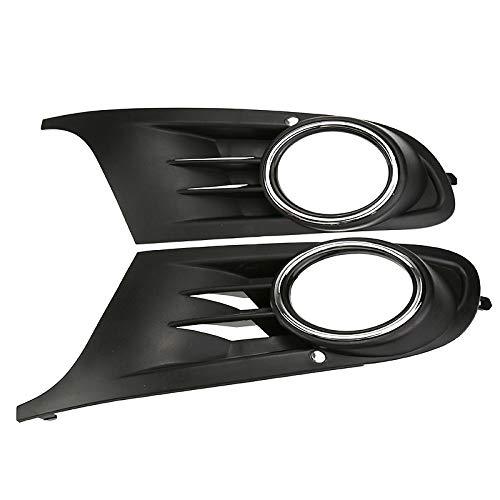 Essming 2 Piezas de Tope Delantero del Bajo Niebla Cubre Parrillas luz for Volkswagen Jetta Sportwagen VW Golf 6 Vi MK6 TDI/ETI Car Styling