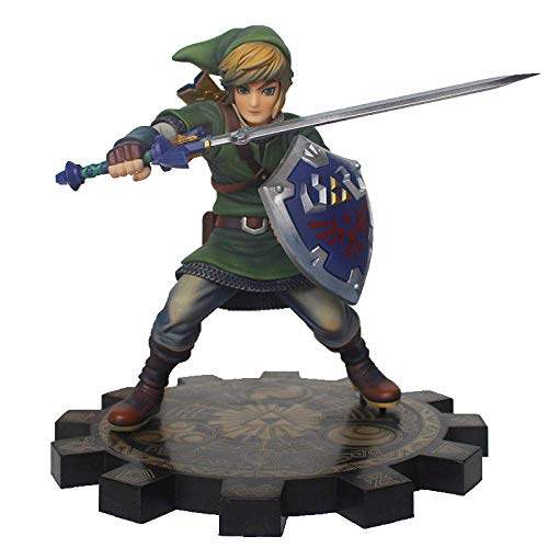 ymdmds Alto 20 cm La Leyenda de Zelda Sky Sword Link 1/7 Modelo de...