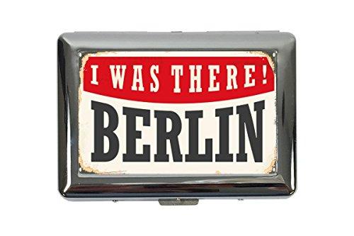 Zigarettenetui Box Reisen Küche Berlin Deutschland Bedruckt