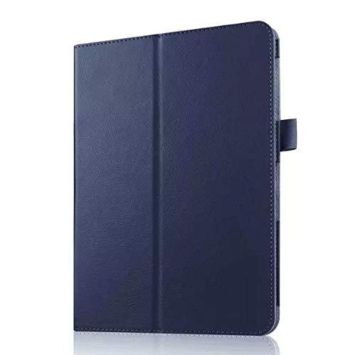Funda de piel sintética para Samsung Galaxy Tab S2 9.7 T810 T810 T815 Tablet Case 9.7 Tablet Case azul oscuro
