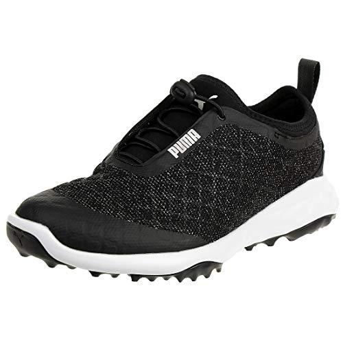 Puma Damen Brea Fusion Sport Golfschuhe, Schwarz Black White 03, 39 EU