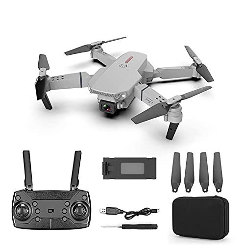 J-Clock Drone con videocamera HD 720P per Adulti e Bambini, quadricottero Pieghevole con Video Live FPV grandangolare, Include Borsa per Il Trasporto