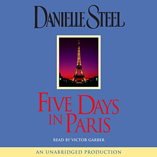 Five Days in Paris audiobook cover art