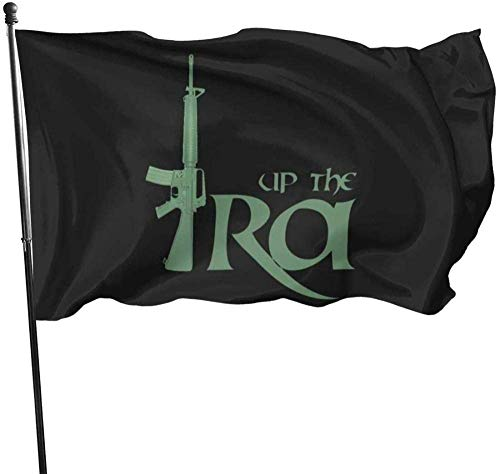 Ives Jean Garden Flag Sign Outdoor Party Indoor Banner Wasserdichter Innenhof Zaun Zaun Spaß und Roman 5 * 3FT, Up The Ra Ira Flag Banner Flaggen