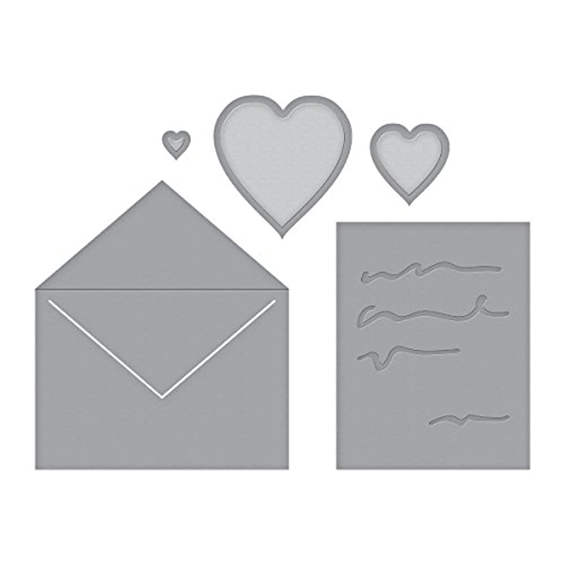 Spellbinders Love Letter .2