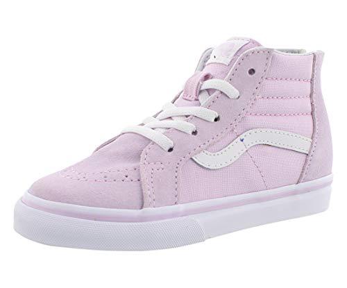 Vans VN-0A32R3UJM: Boys SK8-HI Zip Lavender Fog/True White Sneakers (5 M US Toddler)