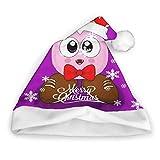 Marx Kirby Plush Christmas Hat Xmas Beanie Holiday Party Santa Hat