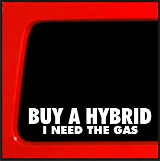 Buy a Hybrid , I Need the Gas Vinyl Decal diesel sticker for Jeep 4x4 Yota sas bobbed 22 4wd lifted funny sticker 20