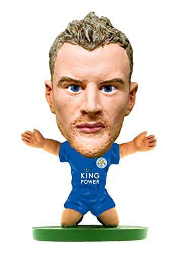 SoccerStarz Jamie Vardy Leicester City Football Club Home (Classic Kit) /Figures