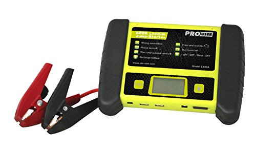 Pro-User 20141 LI600A Lithium Ionen Starthilfe mit 600 Ampere, ADAC tested