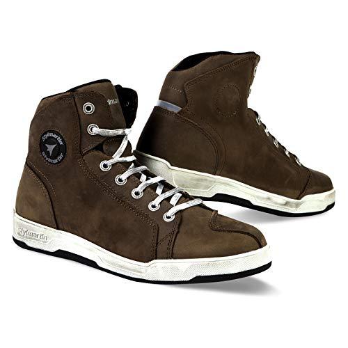 Stylmartin Marshall urban sneakers in braun grosse 44