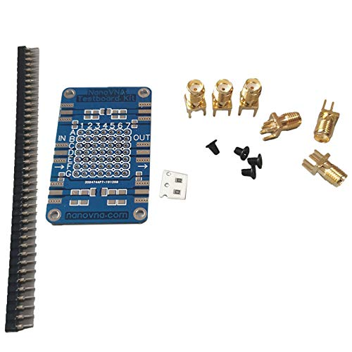 SODIAL NanoVNA Testboard Kit Langlebiges, Genaues Netzwerkanalyse-Testboard Demo Board Hochwertiges Entwicklungsboard