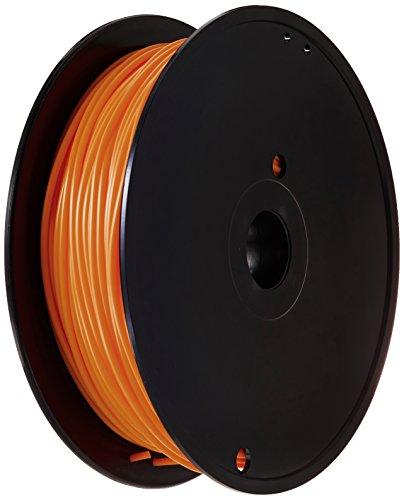 German RepRap PLA Filament, 750 g, 3 mm, fluo orange