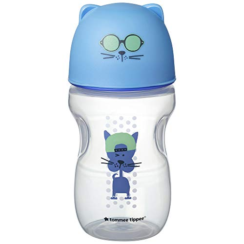 Tommee Tippee Soft Sippee Flow Transition Cup Blue 300ml