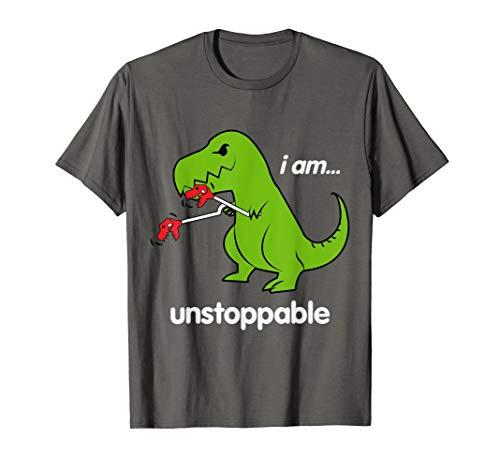 Bambini Divertente Stile Retrò 80s Dinosauro Slogan T-shirt per Ragazzi e Ragazze