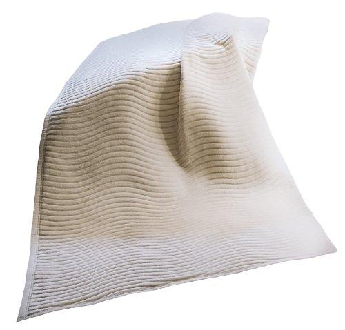 Bocasa BIEDERLACK BORBO Wohndecke Relief Cotton New Wave (220X240 cm)