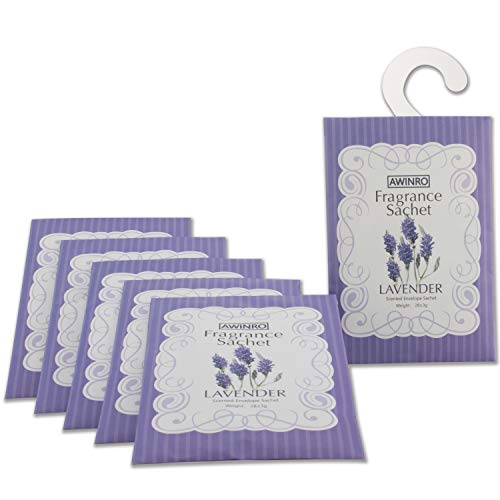 Lavender Scented Sachets Closet and Drawers