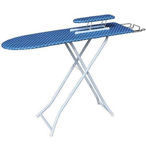 Ryuyu Tabla de Planchar Tabla de Planchar Plegable para el hogar Plancha para Ropa Estante para Tabla Tabla de Planchar de Alta Gama Percha para Planchar Tabla de Planchar-Cuadrado Azul