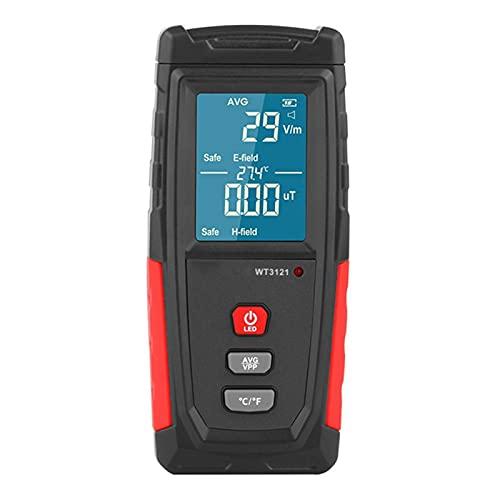 liuchenmaoyi FEM Meter WT3121. Tragbarer Handheld EMF Zähler Elektromagnetische Strahlung Dosimeter Tester Elektrisches Magnetfeld Dosimeter Detektor FEM-Schutz