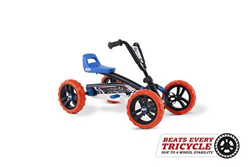 BERG Gokart Buzzy Nitro | Kinderfahrzeug, Tretauto, Sicherheid und Stabilität, Kinderspielzeug geeignet für Kinder im Alter von 2-5 Jahren