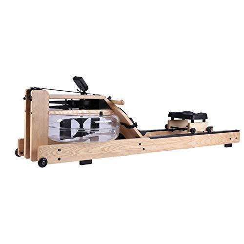 Máquinas de remo de funda de almohada, máquinas de remo de agua para el hogar, Máquina de remo de resistencia al agua con pantalla LCD, equipo de apagado de adelgazamiento aeróbico interior zhuang94